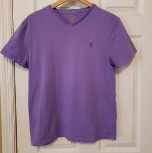 Ralph Lauren Light Purple V-Neck Men's Small